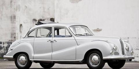 One of BMW's largest post-war sedans.