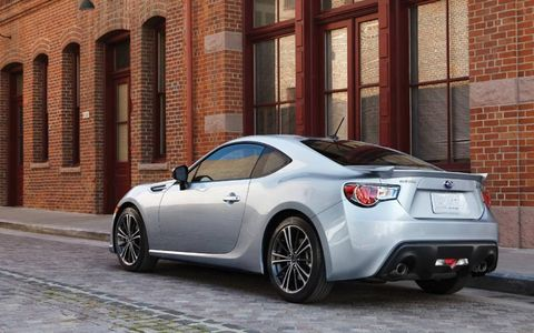 The 2013 Subaru BRZ Limited is available in a six-speed automatic and a six-speed manual.