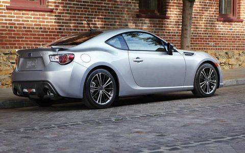 The 2013 Subaru BRZ Limited is capable of 34 mpg combined fuel economy.