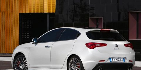 The Alfa Romeo Giulietta