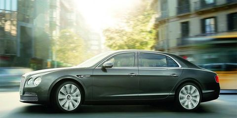 The 2014 Flying Spur. Don't call it a Continental.