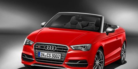 The Audi S3 Cabriolet is powered by a top-of-the-line 2.0 TFSI, which delivers 221 kW (300 hp) between 5,500 rpm and 6,200 rpm and produces 380 Nm (280.27 lb-ft) of torque from 1,800 to 5,500 rpm.