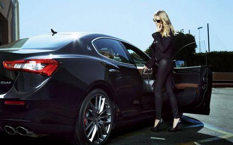 Heidi Klum and Maserati in 'Beyond the Swimsuit'