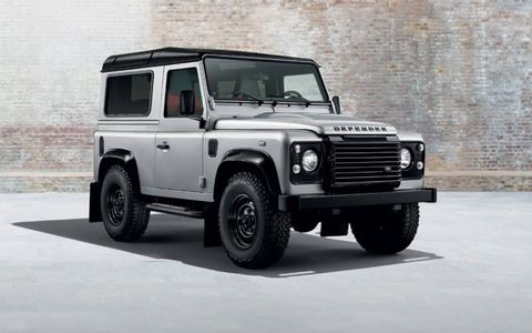 Land Rover Defender with Black Pack