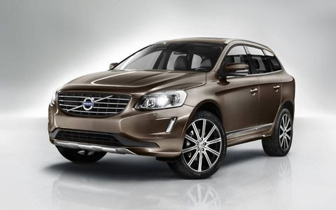 The Volvo XC60 will be shown at the Geneva motor show.