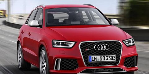 The Audi RS Q3 goes on sale in Europe this fall.