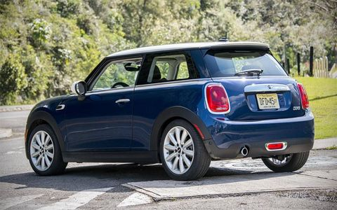 The Mini is actually new inside and out, and has grown a bit.