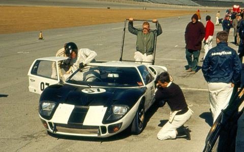 Mark II chassis no. P/1011 was instrumental to the development of the Ford GT40 program, which achieved four victories at the 24 Hours of Le Mans.
