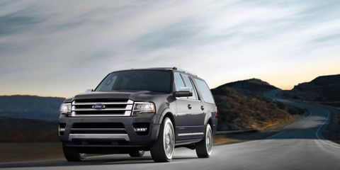 This is the 2015 Ford Expedition, which just made its debut at the Dallas auto show.
