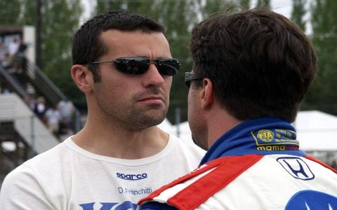 Is that Ben Afleck? Actually, if you mixed Adam Sandler and Ben Afleck, you'd about have it. You could also just get Dario Franchitti.