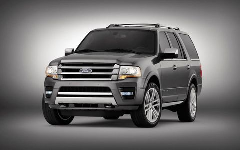 The Ford Expedition comes in two lengths: a standard 119-inch wheelbase and a longer 131-inch wheelbase.