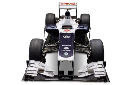 The Williams FW35 was launched on Tuesday in Barcelona.