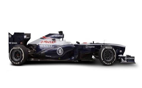 The Williams FW35 is the last launch of the Formula One season. It launched on Tuesday, ahead of a test at Barcelona.