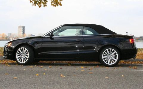 Driver's Log: 2010 Audi A5 Cabriolet