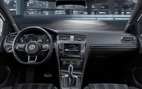The range-defying Volkswagen Golf GTE will make its debut at the Geneva motor show next month