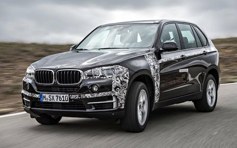 The BMW X5 eDrive comes here next year.
