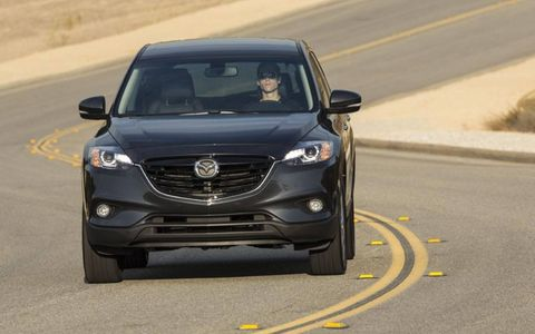 The 2014 Mazda CX-9 Grand Touring starts out at $37,420.