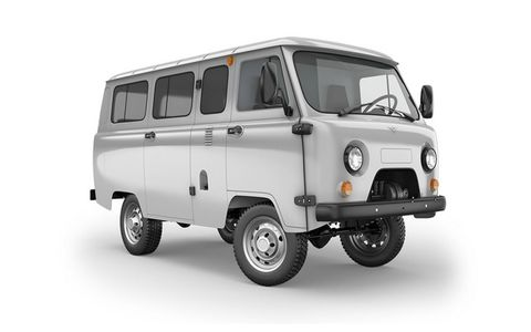 The 2206 is the modern version of the original 4x4 passenger van, offering seating for up to 10 passengers.