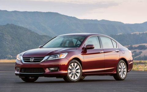 The Accord sedan also earned an overall five-star safety rating from NHTSA.