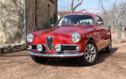 Modified 1960 Alfa Romeo Giulietta SprintPhoto By:Ignacio Salas-Humara