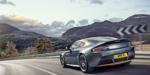 The V8 Vantage N430 builds on the N420 special edition from 2010. The new car bumps output to 430 hp from a 4.7-liter V8, up from 420 in the last car.