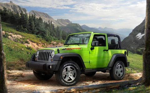 The Wrangler Mountain gives European buyers a choice of either gasoline or diesel power
