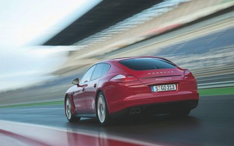 With a base price of $110,875 the 2013 Porsche Panamera GTS is one fine ride.