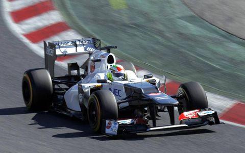 Formula One Testing: Sergio Perez