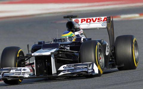 Formula One Testing: Bruno Senna