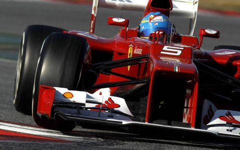 Formula One Testing: Fernando Alonso