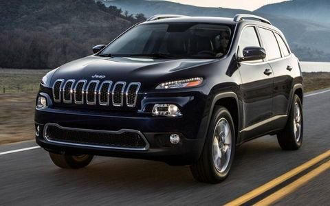 The 2014 Jeep Cherokee goes on sale this fall.