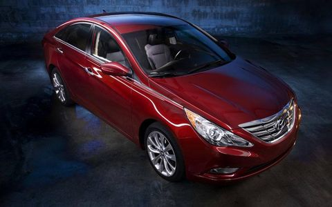 Both a hybrid and a turbo four Sonata will debut at the New York auto show, with the turbo promising more than 250 hp