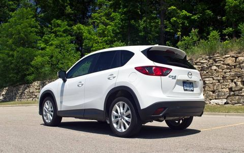The only maintenance our 2013 Mazda CX-5 Grand Touring need during quarter three was its 25,000-mile service.