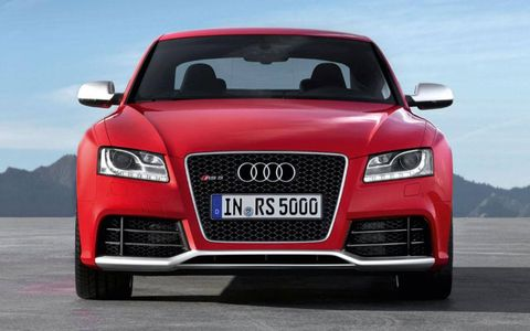 The RS5 engine makes 450-hp and 317 ft-lbs. of torque