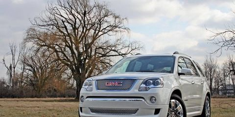 """""""When you have something good, why change it, right? That appears to be the formula GMC is following with the Acadia, a three-row crossover that first appeared for the 2007 model year and has remained remarkably unchanged since."""" - Digital Editor Andrew Stoy"""