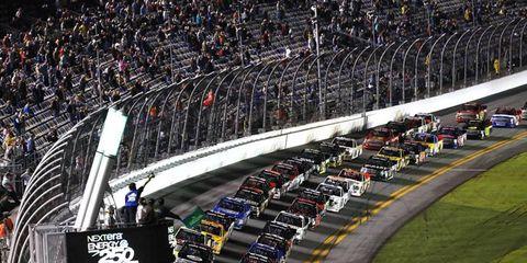 Camping World Trucks Series race starts in Daytona.