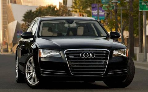 The 2013 Audi A8 L 3.0 TFSI is capable of 28 mpg combined EPA fuel economy.