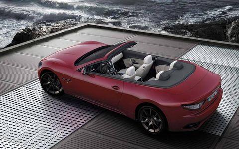 The Maserati GranTurismo Convertible Sport