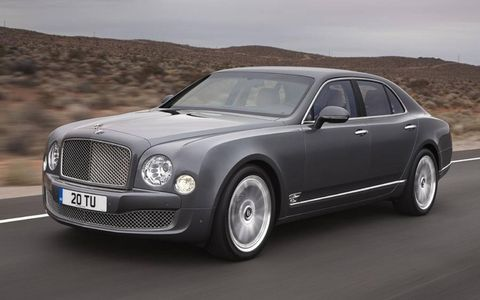 Bentley calls its upgraded trim the Mulliner Driving Specification.