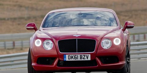 Automotive design, Mode of transport, Vehicle, Land vehicle, Road, Car, Automotive mirror, Grille, Automotive lighting, Bentley,