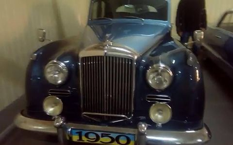 The presence of this 1950 Bentley Continental S1 is as random as that of the Chevy Impala.