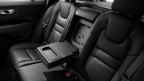 The 2019 Volvo V60 offers two wood inlay options and several colors for upholstery.