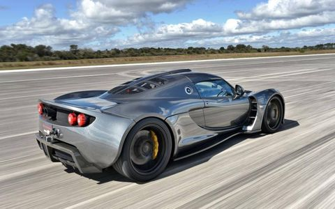 Hennessey has set its sights on breaking the 280 mph barrier in the near future.