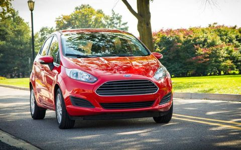 Total output for the 2014 Ford Fiesta SE sedan tops out at 120-hp and 112 lb-ft of torque.