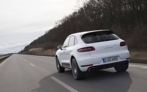 """Porsche says """"Macan"""" is derived from the Indonesian word for tiger, though it's also very close to the Indonesian word for """"meal"""" or """"eat"""" (makan)."""