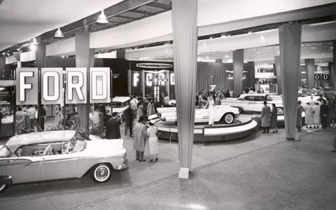 Ford Display in 1958