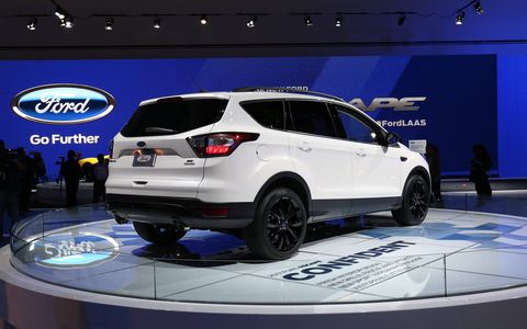 Ford's connect sync app allows for remote access to the 2017 Escape. This technology will probably show up on the entire line of future Ford vehicles, but as of this minute it is only available on the Escape.