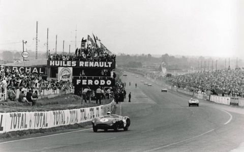 The DBR1 dominated racing in the 1950s.