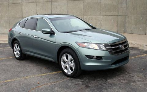 Driver's Log Gallery: 2010 Honda Accord Crosstour EX-L