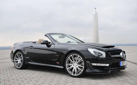Brabus offers an engine upgrade for the Mercedes-Benz SL65 AMG.